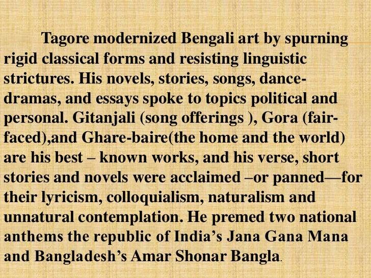 English in pdf biography tagore rabindranath