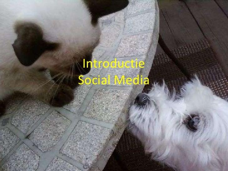 IntroductieSocial Media<br />