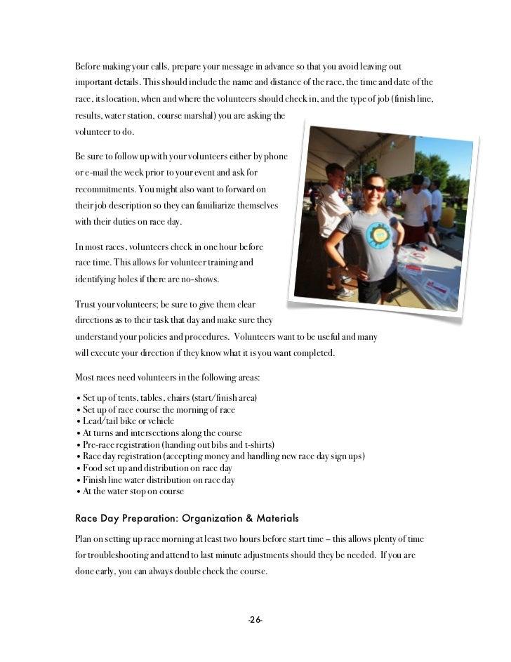 Race Director Handbook