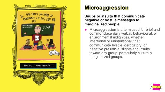 Jens Martensson Have you ever experienced a Microaggression?
