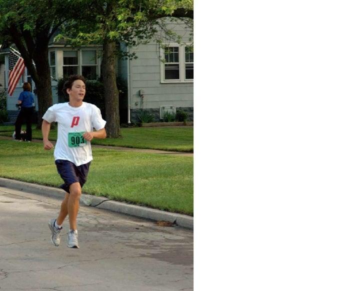 Race cont. dow run walk