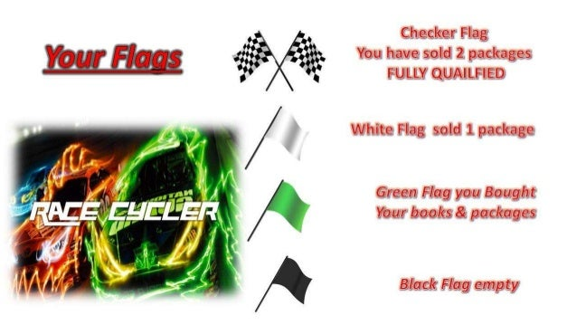 Race cycler groups explanation Slide 3