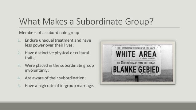 Assignment journal entry of a subordinate group member behavior