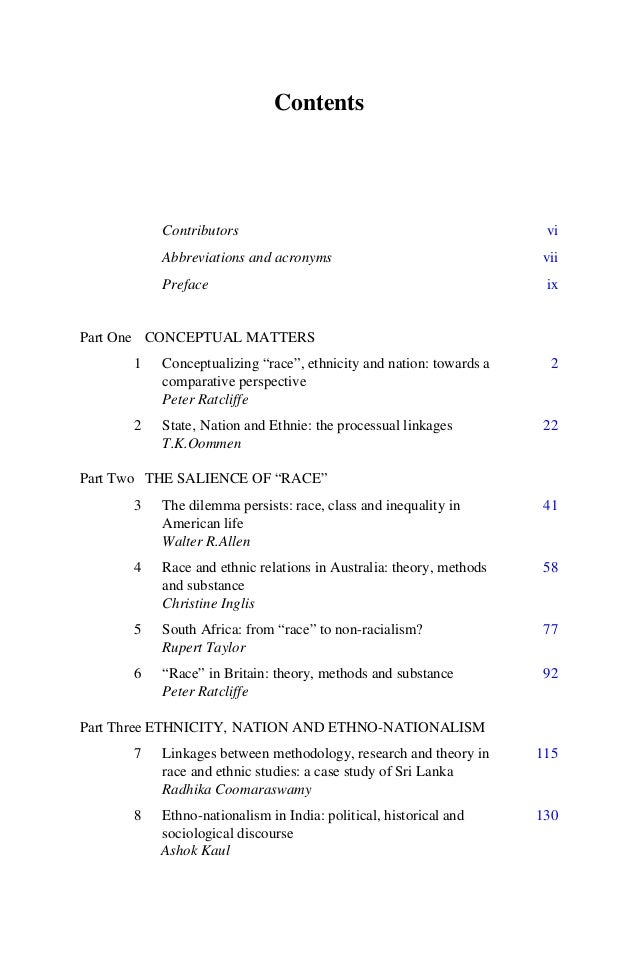 9 The dialectics of theory and research on race and ethnicity in Nigeria L.Adele Jinadu 140 10 Community and ethnicity in ...