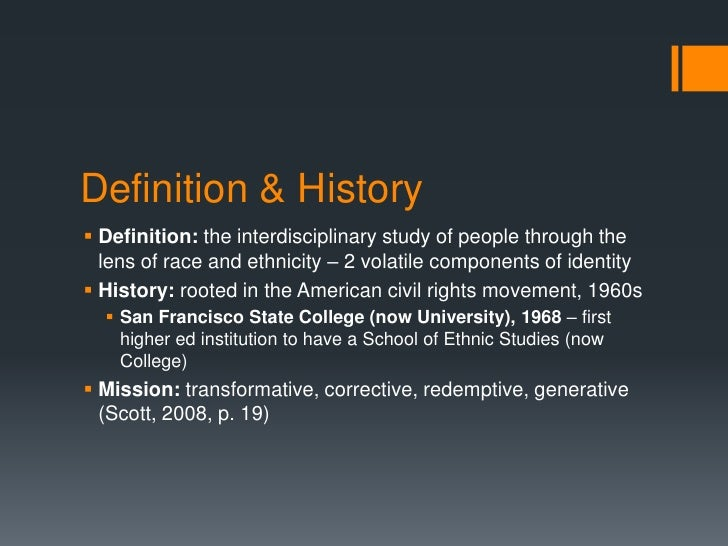 """a history of racism and the definition of race Race: race, the idea that the human species is divided into distinct groups on the basis of inherited physical and behavioral differences genetic studies in the late 20th century refuted the existence of biogenetically distinct races, and scholars now argue that """"races"""" are cultural interventions."""
