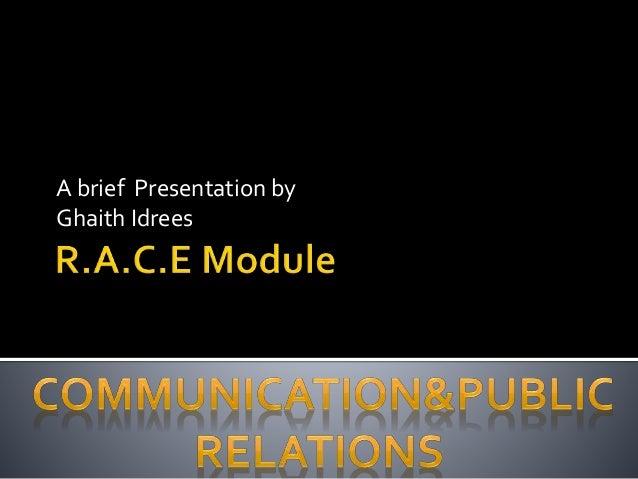 Race Model Public Relation