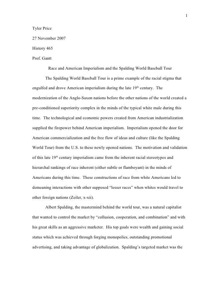 essay racial discrimination