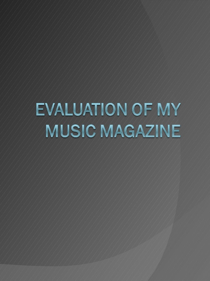 My magazine is conventional in the sense that it uses many similar colours and fonts to other existing 'rock' magazines. M...