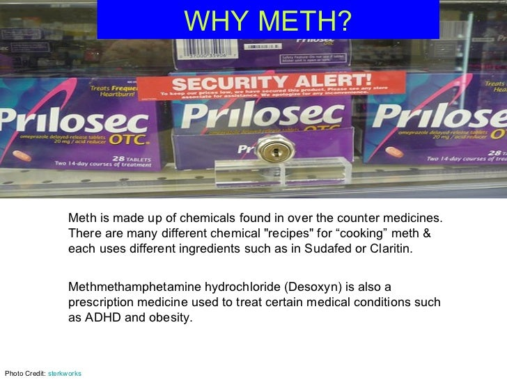what is meth