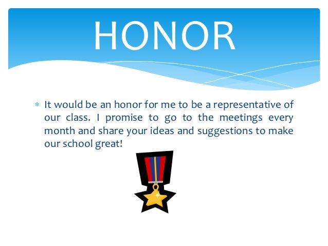 Classroom Representative Ideas : Rachel student council