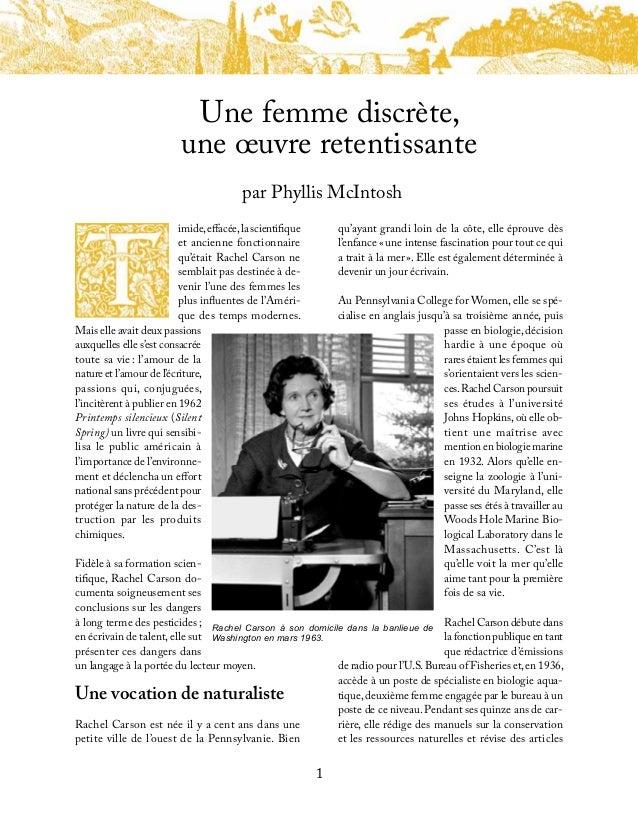 Rachelcarson french Slide 3