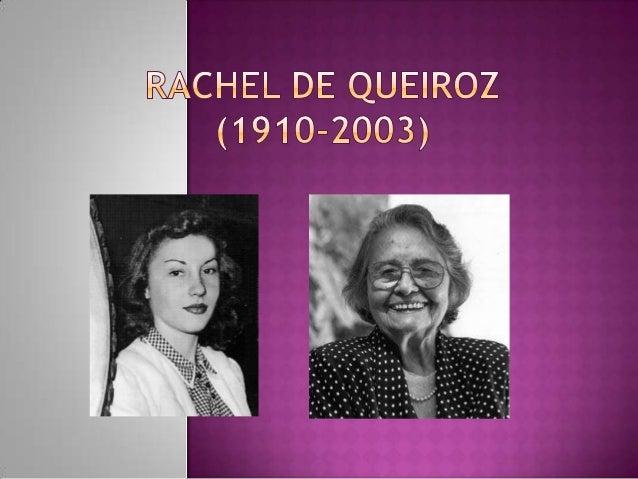 Foi escritora brasileira. A primeira mulher a entrar para a Academia Brasileira de Letras, eleita em 1977. Foi também jorn...
