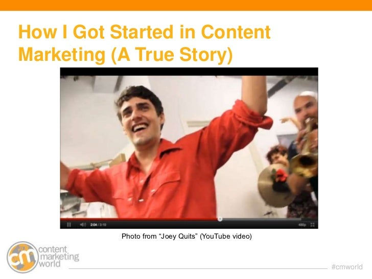 """""""Demand Generation/Creating Content that Converts and Shortens the Sales Cycle (B2B)"""" Slide 2"""