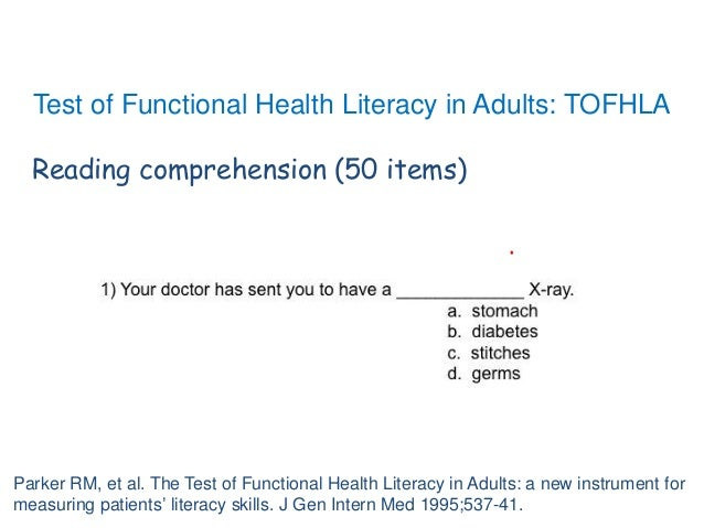 Literacy In Adults 42