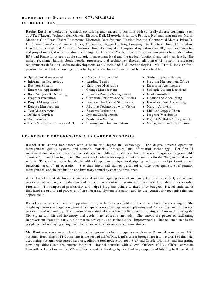 configuration management resume rachel rutti resume 8 23
