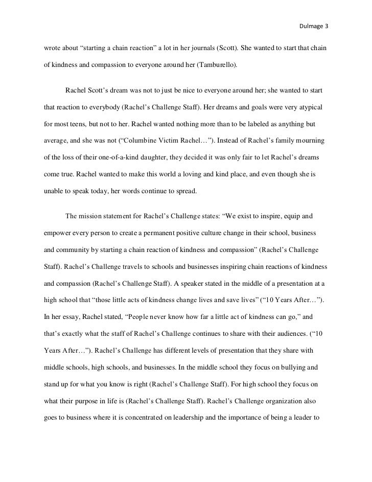 senior project research paper rachel scott 3