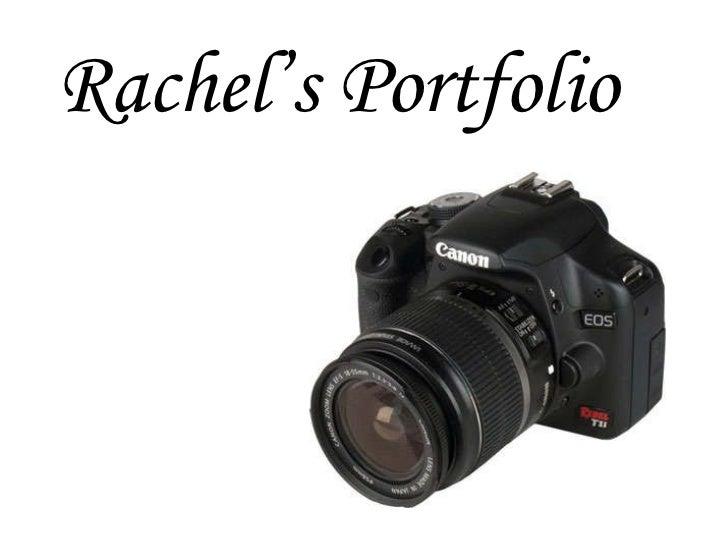 Rachel's Portfolio
