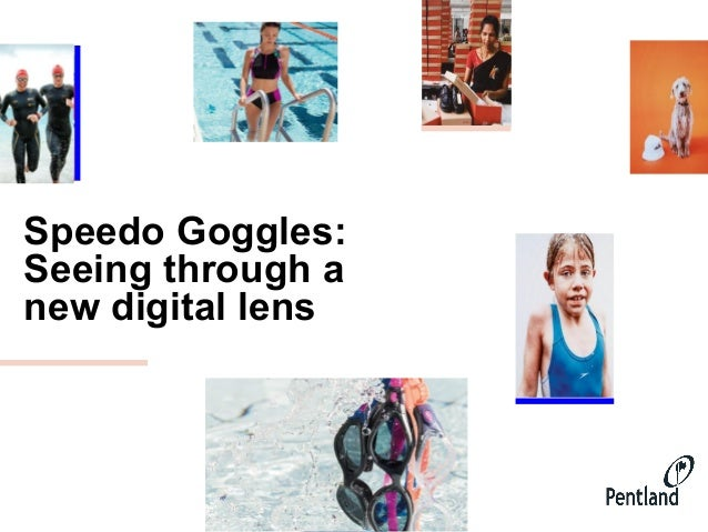 Speedo Goggles: Seeing through a new digital lens