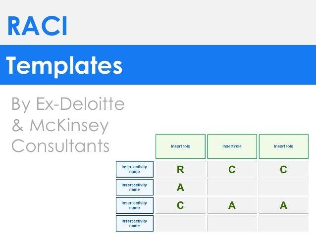 raci templates