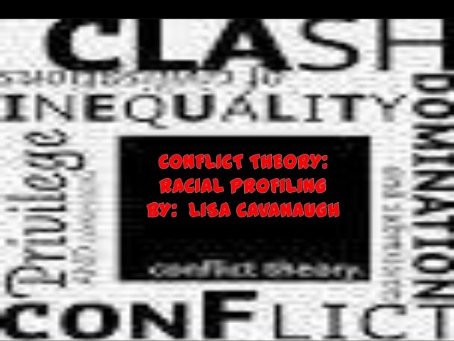  The Conflict Theory is based around power, control, dominance,    disparity, discrimination, and the inequality that man...