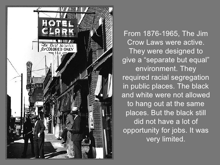 segregation in 1930s in america Thus the civil rights movement of the 1950s and 1960s was not concerned exclusively with interracial cooperation or segregation and discrimination as a character issue rather, as in earlier decades, the prize was a redefinition of american society and a redistribution of social and economic power.