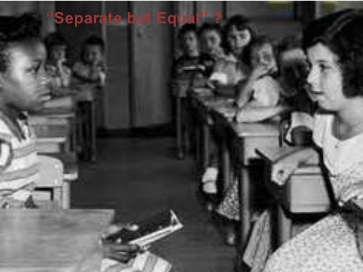 Racial segregation during the 1930's