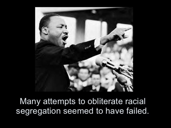 segregation in the 1930s Segregation was supported by the legal system and police  but things started to turn in the 1930's when northern blacks increasingly voted for democrats instead .