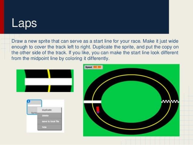Scratch Programming Racing Game Tutorial