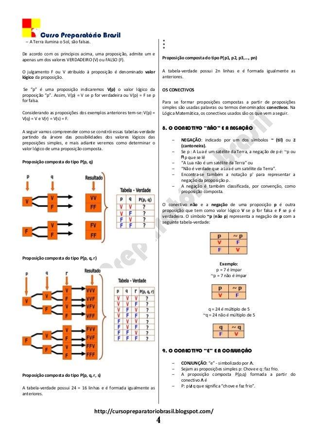 Curso Preparatório Brasil http://cursopreparatoriobrasil.blogspot.com/ 4 ‒ A Terra ilumina o Sol, são falsas. De acordo co...