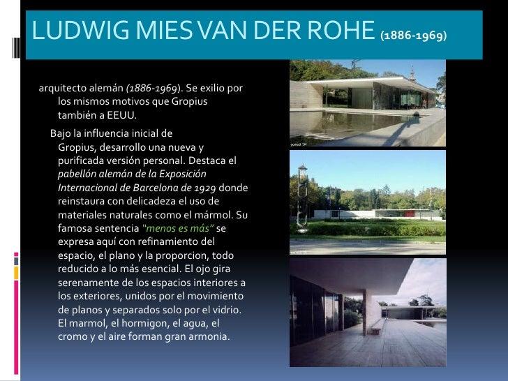 Arquitectura del siglo xx racionalismo for Obra arquitectonica definicion