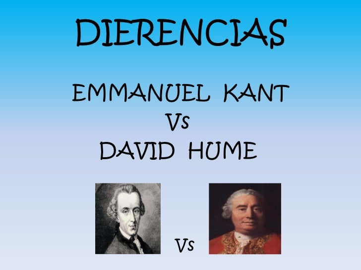 kant vs hume source of morality Free essay: comparing david hume and immanuel kant david hume and   because reason alone can never cause action, morality is rooted in us and our.