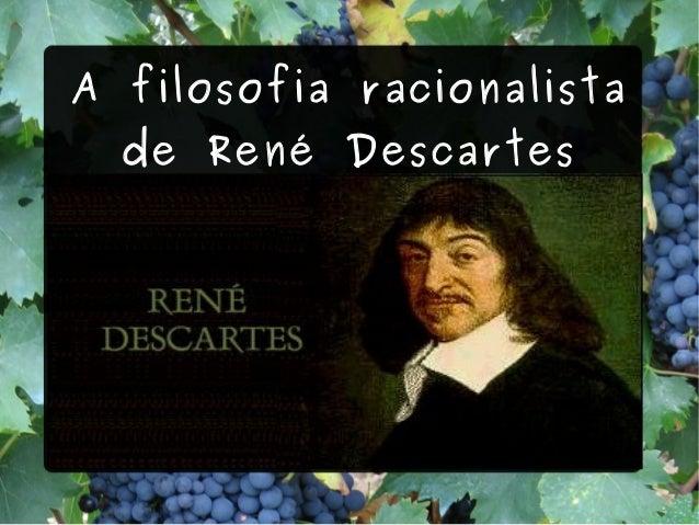 A filosofia racionalista de René Descartes Título