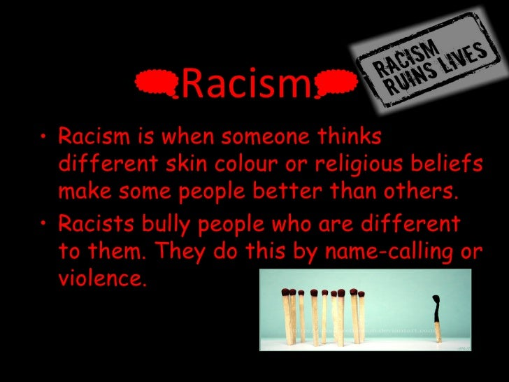 racism is still a living issue 2014-2-6  why is racism still an issue in a civilized, globalized and stop living in a self shared your attitude on the issue, but the reality is that racism is.