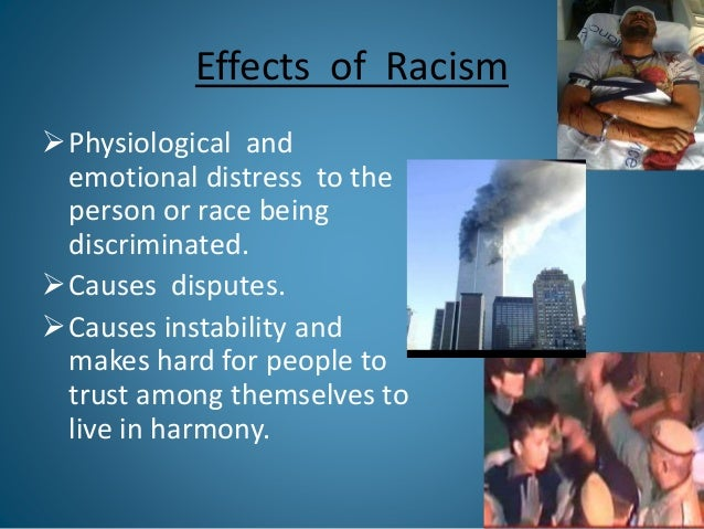 Racism: History, Causes, Features and Consequences