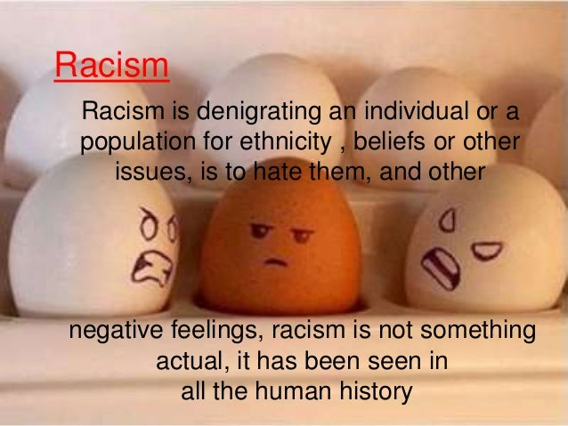 Introduction to racism essay