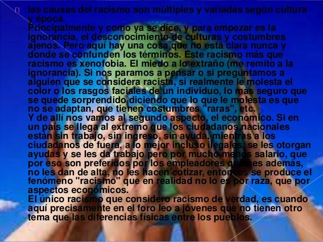 Las consecuencias son: violencia,  intolerancia, falta de respeto, menoscabo a  la vida de los terceros afectados,  discri...