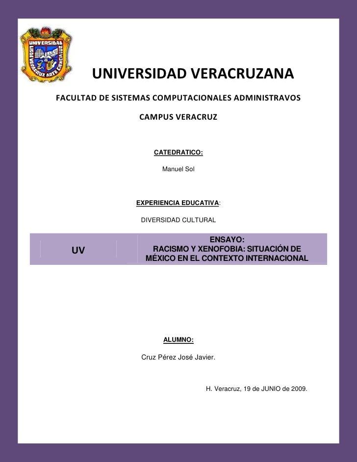 -682625-417830-682144-372574Universidad Veracruzana <br />UNIVERSIDAD VERACRUZANA<br />FACULTAD DE SISTEMAS COMPUTACIONALE...