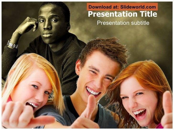 Presentation Title Presentation subtitle Download at: Slideworld.com