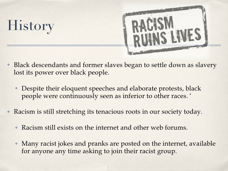 speech on racism