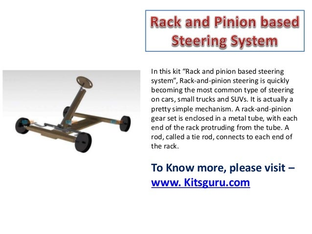 Rack And Pinion Based Steering System