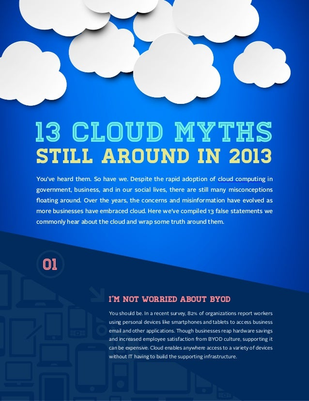 13 Cloud Computing Myths Still Around in 2013