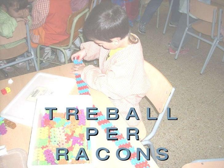 TREBALL PER RACONS