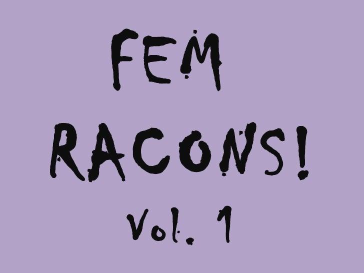 Racons vol1