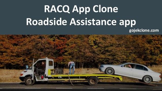 RACQ App Clone Roadside Assistance app gojekclone.com