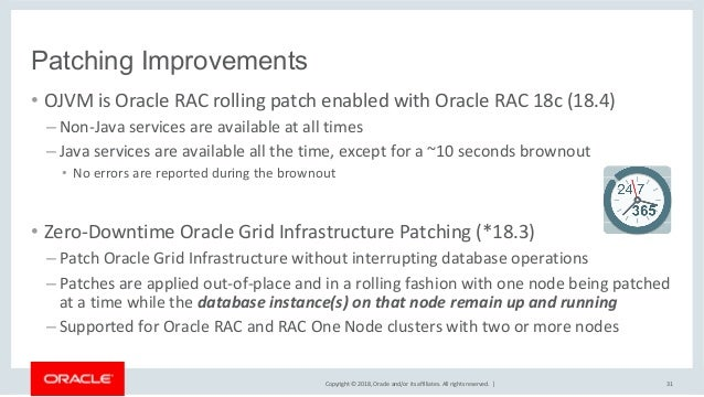 Rac Road Map Oracle RAC   Roadmap for New Features