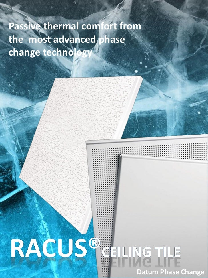 Passive thermal comfort fromthe most advanced phasechange technology                           Datum Phase Change