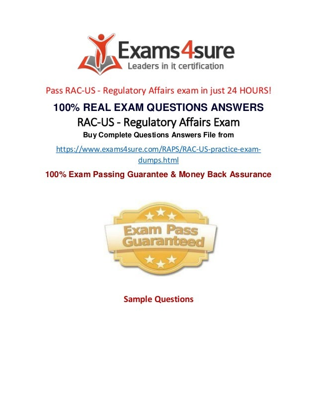 Rac Us Exam Questions