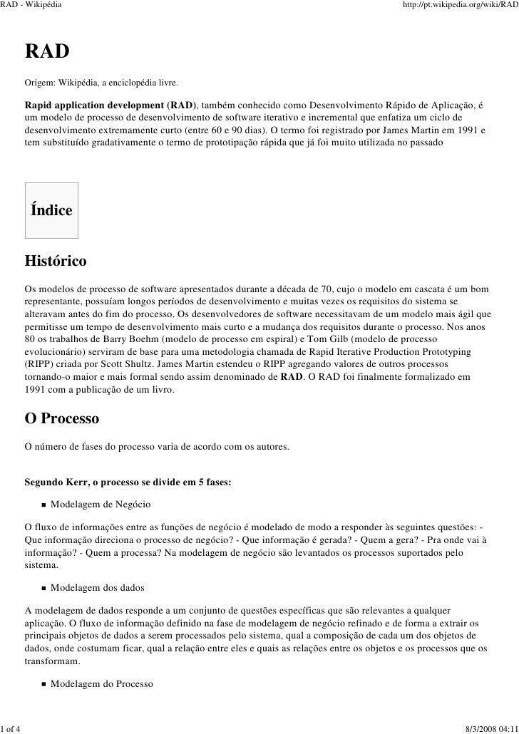 RAD - Wikipédia                                                                                     http://pt.wikipedia.or...