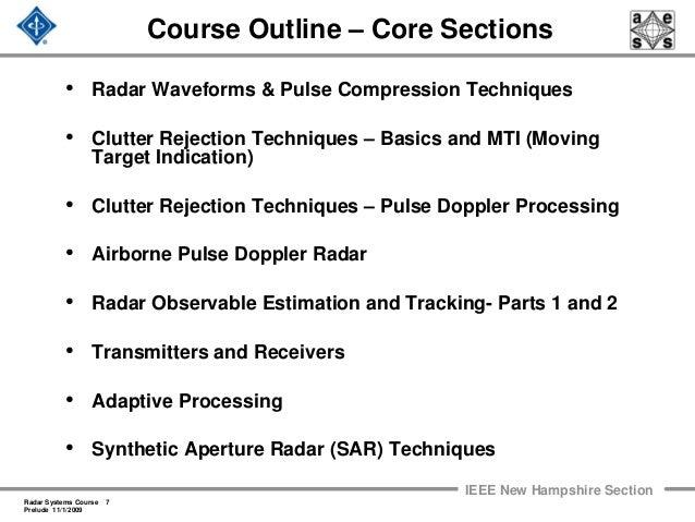 Radar 2009 a 0 prelude