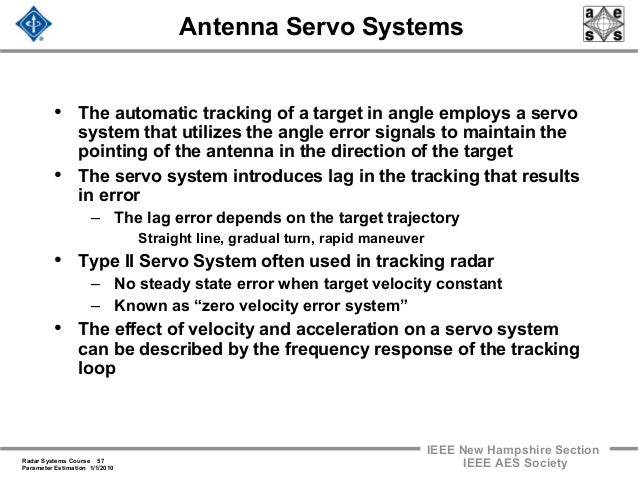 Tradex radar system